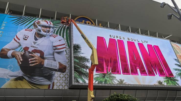 Verpackung vor Inhalt: Um den Super Bowl wird eine grosse Show aufgezogen.