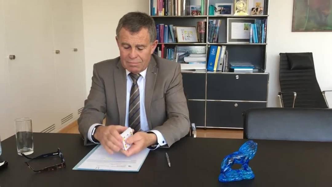 Interview mit Finanzdirektor Ernst Stocker