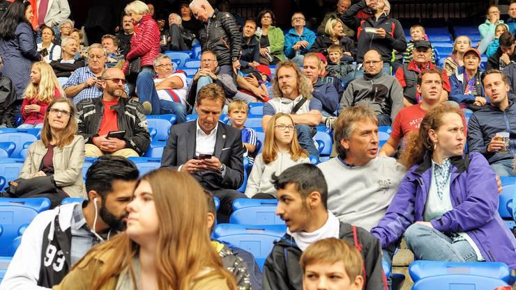 Ab Sonntag spielt der FCB erstmals wieder vor mehr Fans. (Archivbild)