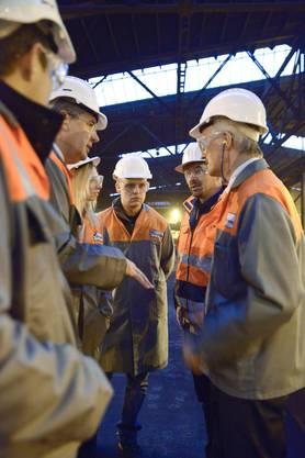 Solothurner Industrietag bei Stahl Gerlafingen  022
