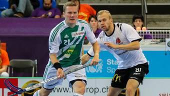 Am letzten Champions Cup noch Kontrahenten im Halbfinal, jetzt spielen beide mit dem SVWE:  Jami Manninen  und Tatu Väänänen.