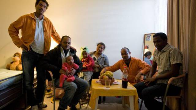 Im ersten Halbjahr haben 922 Eritreer über ein Familiennachzugsgesuch Asyl erhalten. Foto: KEYSTONE