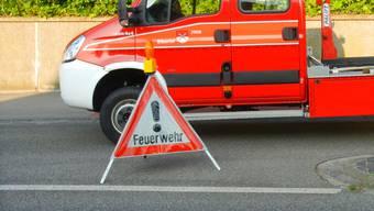 Die Feuerwehr Biberist hatte das Feuer rasch unter Kontrolle. (Archiv)
