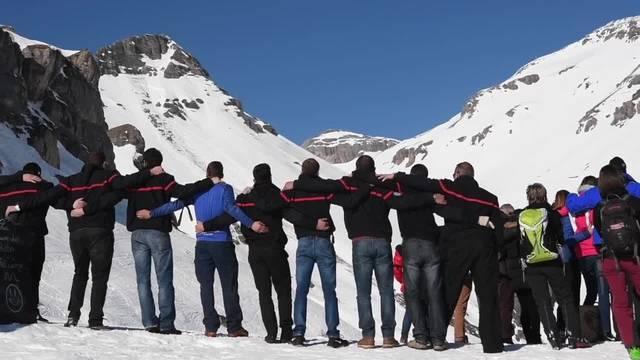 Schweigeminute für Lawinenopfer von Crans-Montana