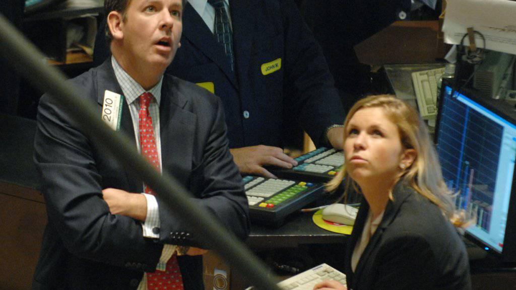 Lange Gesichter: Die Stimmung an den europäischen Börsen ist so schlecht wie seit vier Jahren nicht mehr. (Symbolbild)