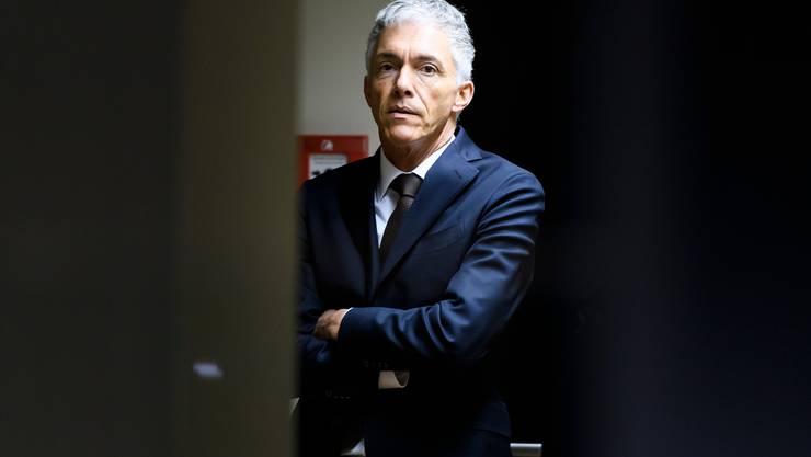 Erbitterter Kampf: Bundesanwalt Michael Lauber.