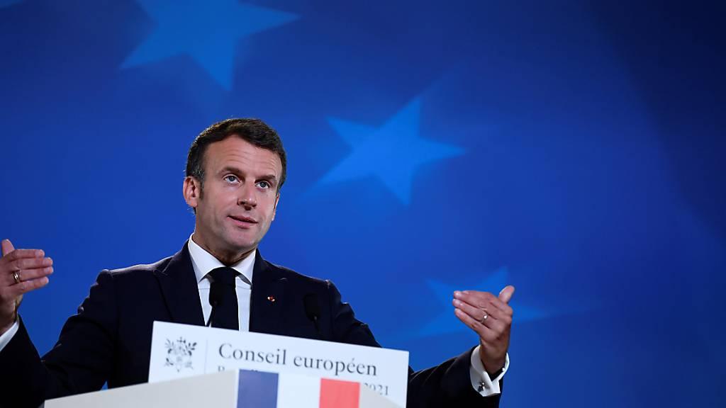 Macron kündigt Reformprozess zu Frankreichs Justizsystem an