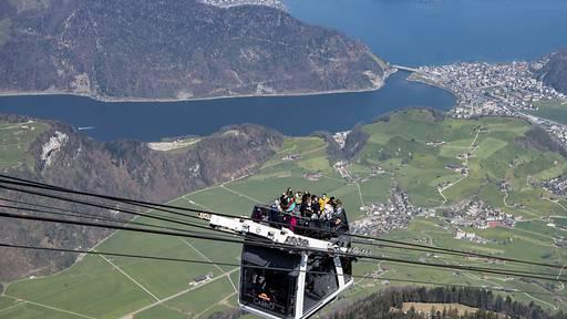 Schweizer Seilbahnen zählen im Sommer auf einheimische Gäste