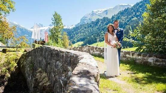 Denise Feierabend hat geheiratet