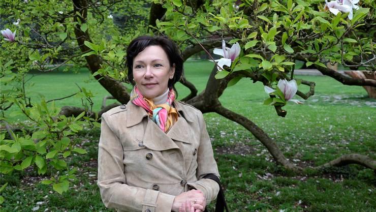 «Ich liebe das Piano der Villa Boveri», sagt die russische Pianistin Gala Gurinovich, die seit drei Jahren in Baden wohnt.