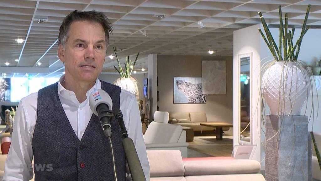 Böser Brief an Bundesrat: Möbelhändler pochen auf Wiedereröffnung am 27. April