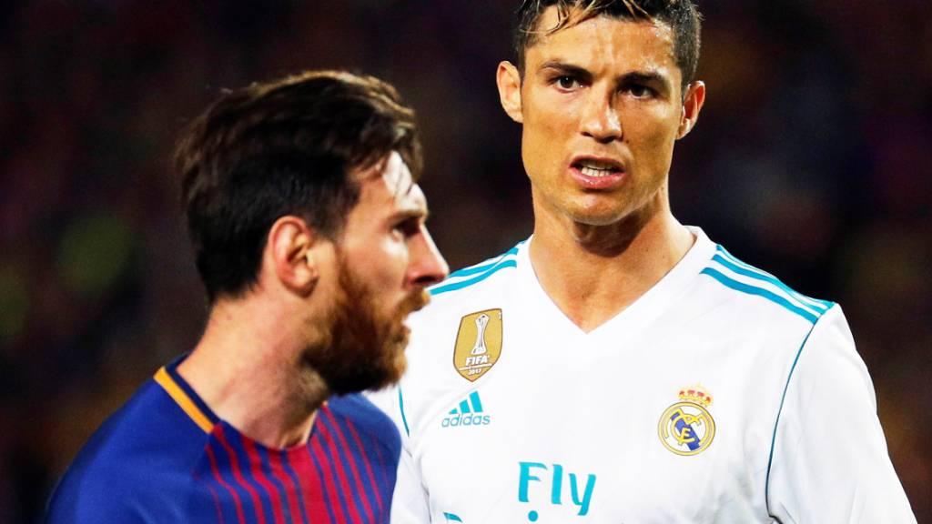 De Viertelfinals der Champions League ohne Messi und Ronaldo? Das gab es seit der Saison 2004/2005 nicht mehr (Archivbild)