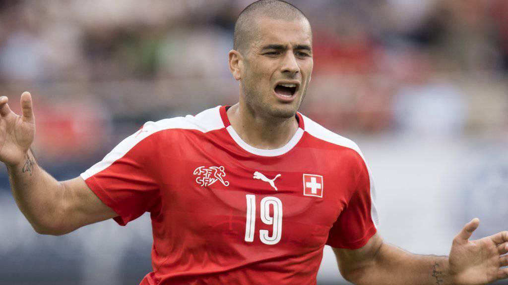 Nationalstürmer Eren Derdiyok avanciert beim Saisonauftakt mit Galatasaray zum Matchwinner. (Archivbild)
