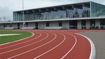 Einweihungsreif: Sportzentrum samt Halle und Aussenanlagen. sl