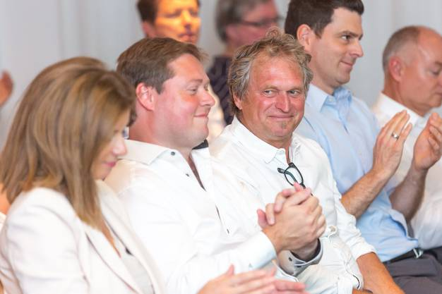 Die neuen Verwaltungsratsmitglieder Philipp Bonorand (l.) und Kurt Sandmeier.
