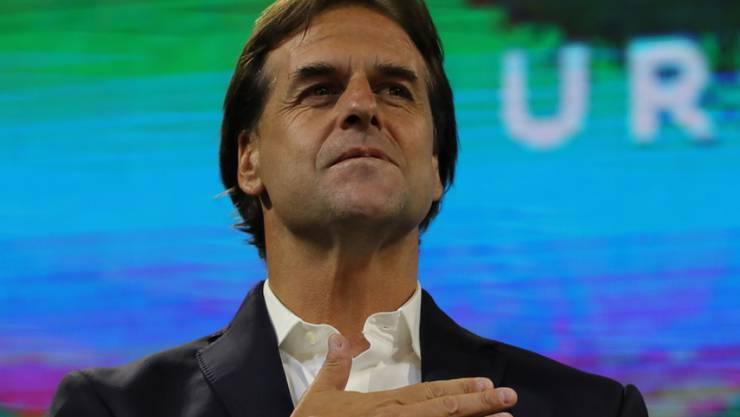 Der neu gewählte Präsident von Uruguay, Luis Lacalle Pou. (Archivbild)