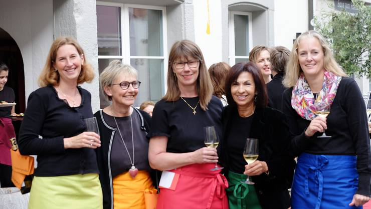 v.l.n.r. Wiebke Steinfeldt, Karin Schüpbach, Brigitte Beeli, Elisabeth Burkhard, Karola Dirlam