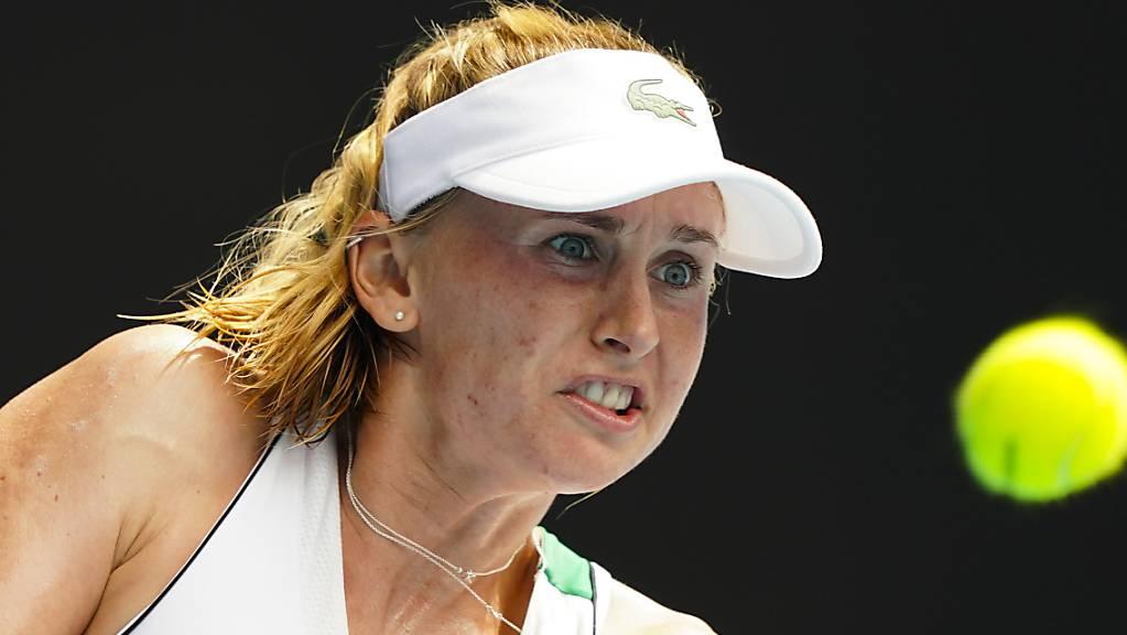 Jil Teichmann musste sich der letztjährigen French-Open-Siegerin Iga Swiatek geschlagen geben