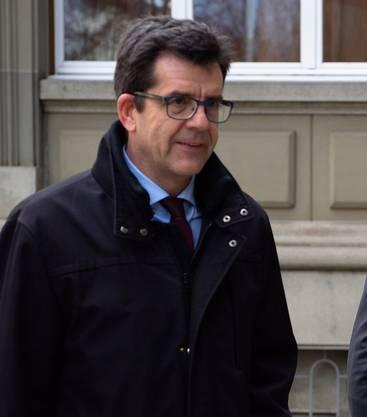 Botschafter Peter Gasser, Leiter Personenfreizügigkeit des Seco.