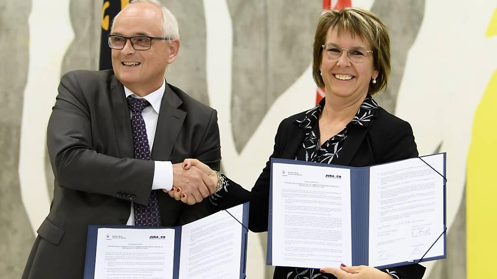 Moutier soll spätestens 2026 zum Kanton Jura wechseln