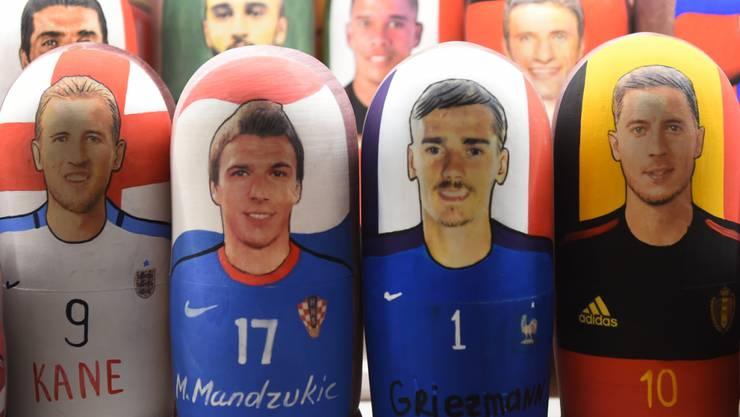 Mario Mandzukic mit Kroatien oder Antoine Griezmann mit Frankreich: wer wird am Sonntag in Moskau Weltmeister?
