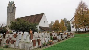 Die reformierte Kirche in Windisch.