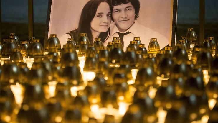 Der slowakische Investigativ-Journalist Jan Kucia und seine Verlobte wurden im Februar zu Hause erschossen. (Archivbild)