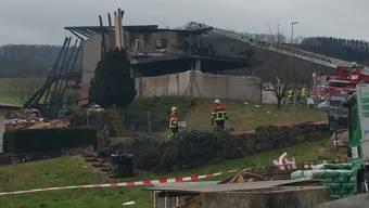 Kopie von Explosion in Einfamilienhaus in Gansingen (März 2017)