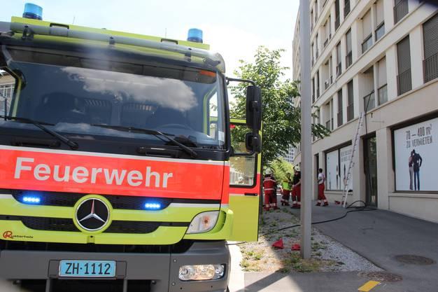 Die Feuerwehr war schnell vor Ort.
