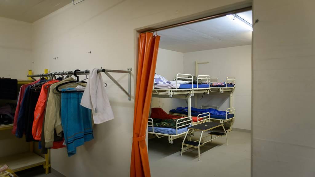 Die Asylsuchenden wurden aus der Zivilschutzanlage Heiden ausquartiert.