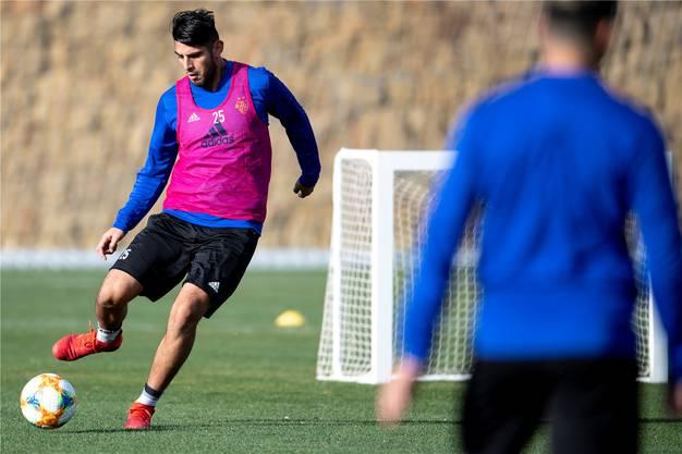 Carlos Zambrano fehlt gegen den FC Sion verletzt.