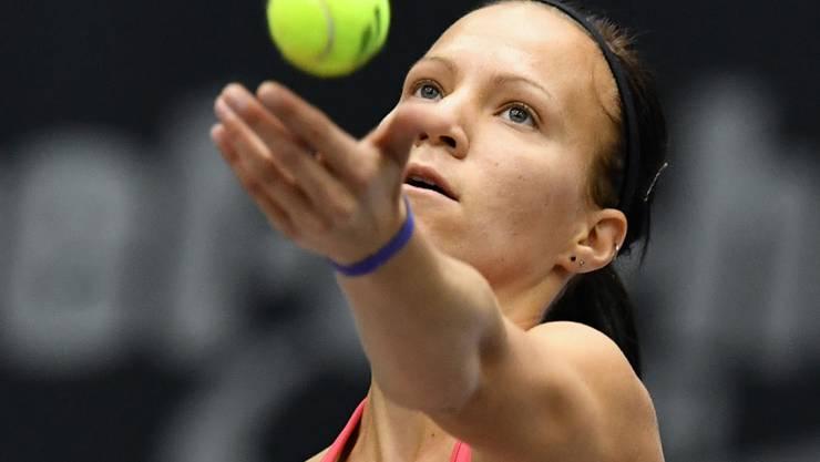 Viktorija Golubic musste sich im Final von Linz geschlagen geben