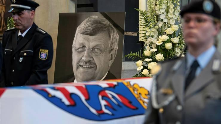 Walter Lübcke wurde am 13. Juni 2019 beerdigt.