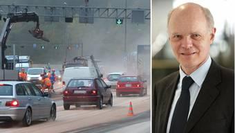 TCS-Sprecher Stephan Müller: Dass sich der Stau so ausgebreitet hat, zeigt wie sensibel unser Verkehrssystem ist.