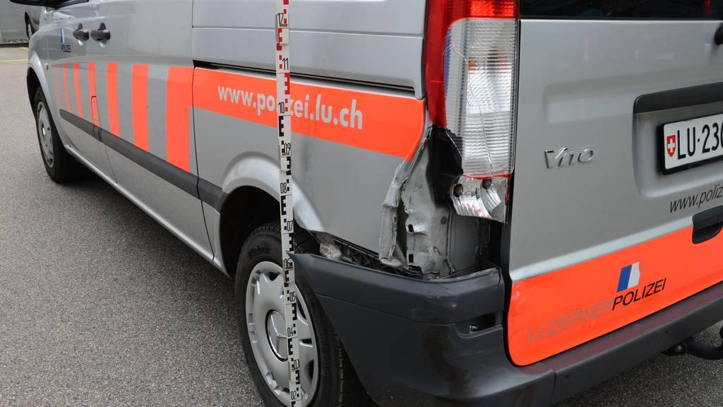 Verfolgungsjagd auf Luzerner Autobahn