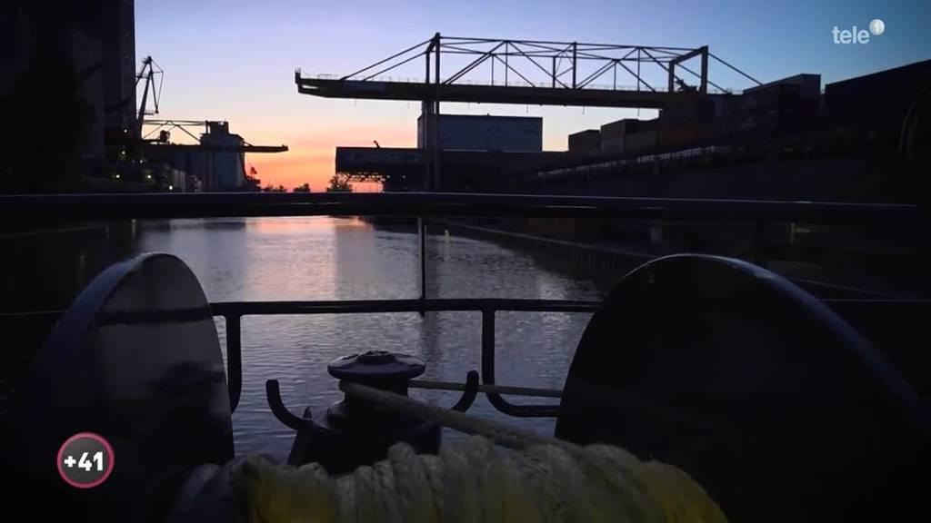 Unterwegs auf dem Rhein: Aufbruch nach Rotterdam