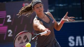 Stefanie Vögele erreicht in Lugano die Halbfinals