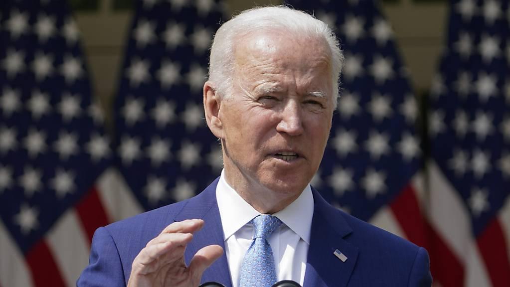 ARCHIV - Joe Biden, Präsident der USA, hat die Mehrheit der Amerikaner hinter sich. Foto: Andrew Harnik/AP/dpa