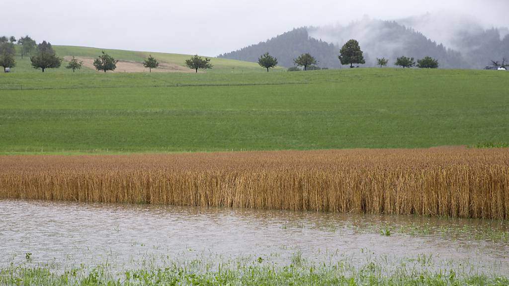 40 Notrufe wegen Hochwasser eingegangen