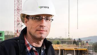 Sven Masche, Bauleiter bei der Erstellung des Limmat Towers, zieht die Kontrolle dem Vertrauen vor.Jiri Reiner