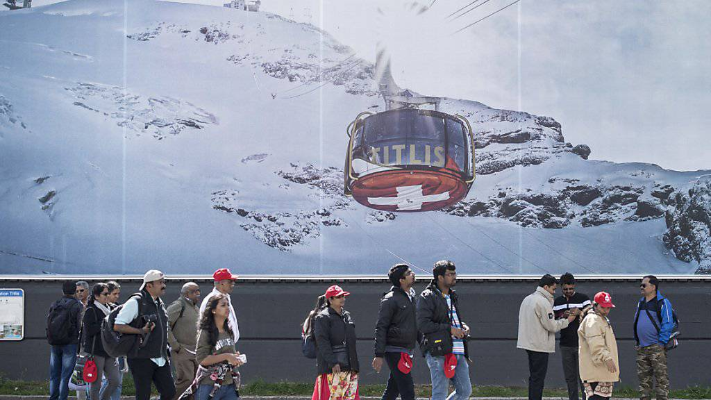 In der vergangenen Wintersaison kamen insbesondere mehr Touristen aus asiatischen Ländern in die Schweiz. (Archivbild)