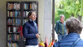 Adrienne Légeret hatte die Idee für den Bücherschrank.