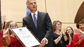 Preis ging erstmals an amtierenden Bundespräsidenten