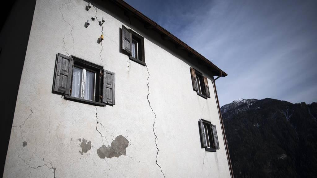 Graubünden hilft dem Rutsch-Dorf