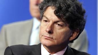 Wurde bei einem Überfall in seinem Haus in Paris verletzt: Frankreichs Ex-Wirtschaftsminister Thierry Breton. (Archivbild)