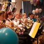 Die Harmonie Birmensdorf spielte rassige und abwechslungsreiche Stücke.