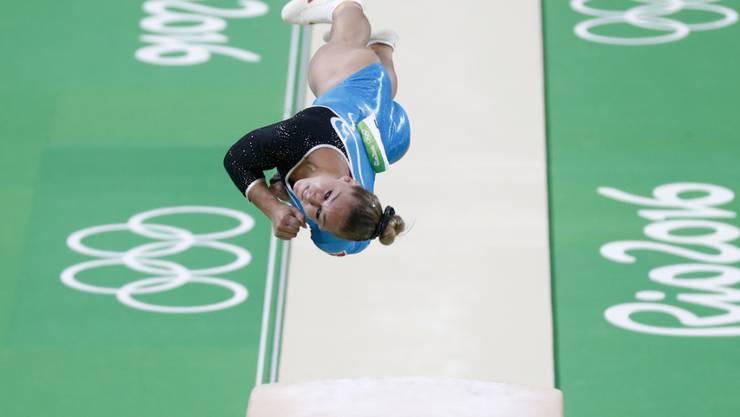 Giulia Steingruber schraubte sich am Sprung zu Olympia-Bronze
