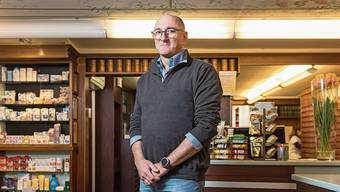 «Unser Geschäft wurde aufwendiger»: Thomas Strasky, Leiter der Badener «Schwanen Apotheke».
