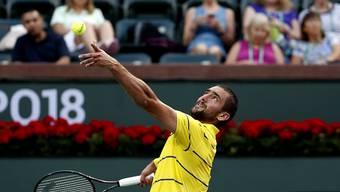 Für den Australian-Open-Finalisten Marin Cilic ist das Turnier in Indian Wells bereits beendet