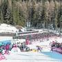 Auch die Langlaufrennen der Tour de Ski in der Arena Lenzerheide dienen als Argumente für einen Platz im Biathlon-Weltcup. (Bild: PD)
